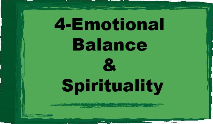 balance and spirituality