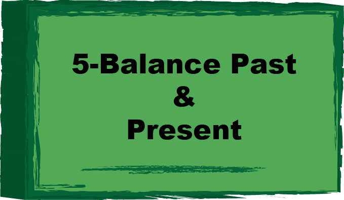 balance past and present button