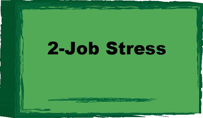job stress button